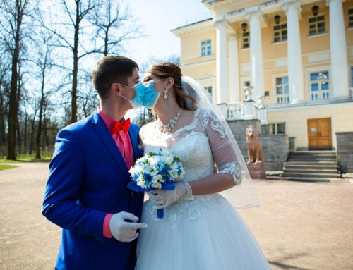 Свадьба в условиях карантина и самоизоляции! Все по правилам!) Любовь без пандемии и коронавируса.