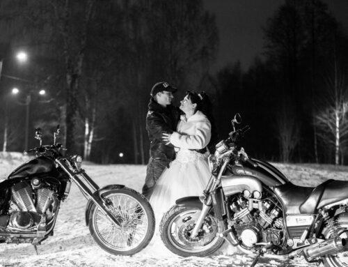 Фотосессия с мотоциклом, фото на мотоцикле